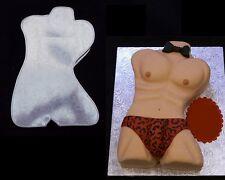 """Novelty Baking Tins - Mens Torso - 3"""" Deep"""