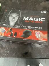 Magic on the move set By Hanky Panky Including Instructional DVD