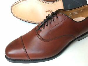 Allen Edmonds PARK AVE Cap Toe CHILI Leather Size 9 C $400 New In Box