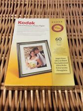 Kodak Ultra Premium Photo Paper 60 Sheets 10 x 15cm New Sealed