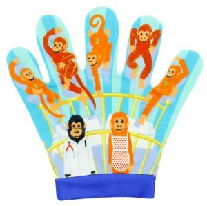 Five Little Monkeys Nursery Rhymes Song Mitt The Puppet Company EYFS Preschool