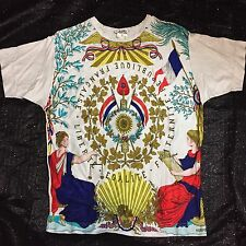 Rare Vtg Hermes Paris Luxury cotton T-shirt made France Size S Exclusif Designer