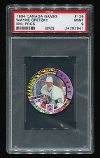 1994 Canada Games NHL Pogs Wayne Gretzky #126 PSA 9