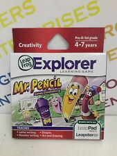 LeapFrog LeapPad Leapster GS Explorer Age 4-7 Game - MR PENCIL Saves Doodleburg
