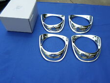 NEW 1963 Chevrolet Impala BelAir Biscayne Headlamp Bezel Set of 4 OER Parts