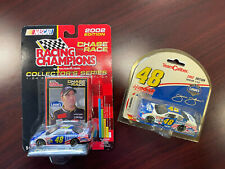Jimmie Johnson Lowe'S Power Of Pride 2002 #48 Rookie Car Team Caliber 1/64 Lot
