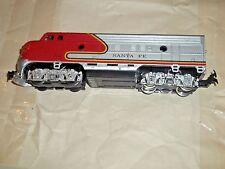 A)  HO), Life Like, Santa Fe  locomotive,