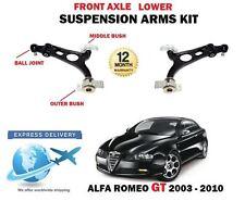PARA ALFA ROMEO GT 03-10 2 X SUSPENSIÓN DELANTERA INFERIOR IZQUIERDO DERECHO