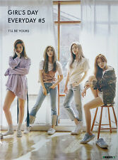 GIRLS DAY - GIRL'S DAY EVERYDAY #5 [Type-B] OFFICIAL POSTER with Tube Case