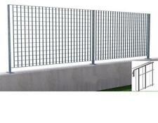 panel grilled for fence steel galvanized cm h 93x2 mt section 25x2 mm