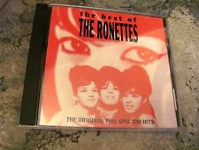 The Best of the Ronettes by Ronettes(Original CD,Sep-1992,ABKCO Records)Rare OOP