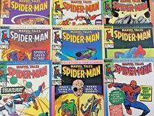 MARVEL TALES NO'S 174-182. SPIDER-MAN. VINTAGE 1985. (9 ISSUE RUN). NICE GRADES