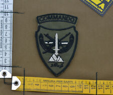 "Ricamata / Embroidered Patch Afghan ""Commando"" OD with VELCRO® brand hook"
