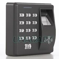 Security Biometric Fingerprint 125KHz RFID ID Card Reader Access Control System