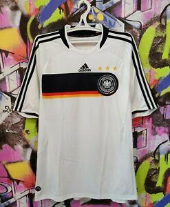 Germany Soccer National Team 2008 2009 Home Football Shirt Jersey Adidas Mens XL