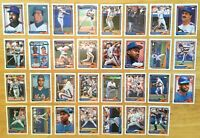 NEW YORK METS Team Set - 1992 Topps 31 Cards - David Cone, Dwight Gooden, Viola