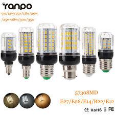 E27 E14 B22 LED Corn Bulb 5730 SMD 9W 12W 15W 20W 25W 30W 35W Light White Lamp