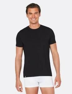 Boody Organic Bamboo Eco Wear Men's Crew Neck T Shirt NEW RRP £ 29.95