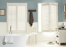 Wooden Plantation Shutters available in MDF & Hardwood options from £149