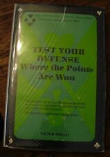 Test Your Defense Where The Points Are Won Victor Mollo Bridge 1972 First Cards