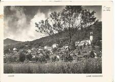 200130 VERBANIA TRAREGO VIGGIONA Cartolina FOTOGRAFICA viaggiata 1950