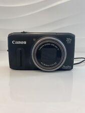 Canon PowerShot SX260 HS 12.1MP Digital Camera - Black (SX260HS)