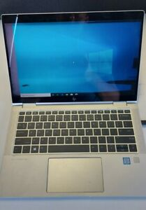 HP X360 1030 G3 Laptop, I5-8350U, 8GB Ram, 256GB - Faulty Display!