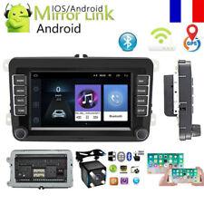 7'' Autoradio Android 8.1 GPS WiFi + Caméra pour VW GOLF 5 PASSAT POLO Caddy