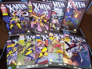 X Men The Animated Series DVD Bundle - As New, marvel