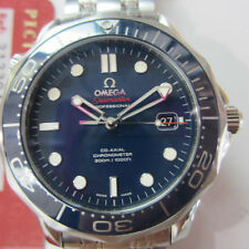 OMEGA SEA MASTER MEN'S WATCH AUTOMATIC SAPPHIRE S/S CERAMIC 21230412003001 NEW