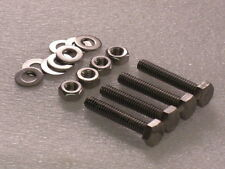 4x 1/4 BSW x1½ Whitworth Stainless Steel Hex Bolts Nuts Washers Camera / Tripod?
