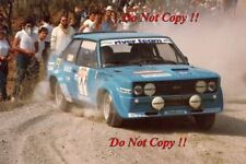 Attilio Bettega FIAT 131 Abarth Rally San Remo 1980 fotografia 1
