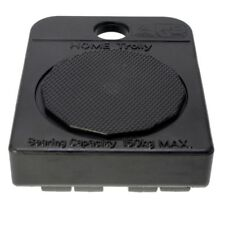 2x Move It SOFT WHEEL HOME TROLLEY 107x82x35mm 150kg Load Capacity BLACK