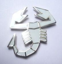 Abarth Emblem weis  Fiat 500/600/850 124 Spider  Grande Punto
