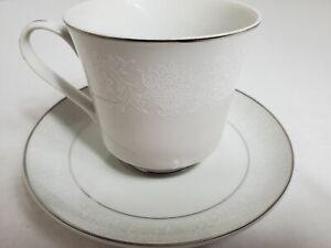 Crown Victoria Lovelace Cup & Saucer