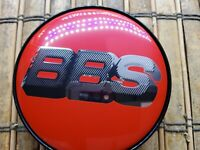 Aftermarket BBS Alloy Wheel Center Caps 56mm Red Silver 🇺🇸 JDM F1 2020!