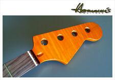 Jazz bass Canadian tiger Flamed Maple Neck high quality Neck pau Ferro Board **