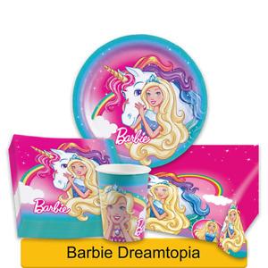 BARBIE DREAMTOPIA Birthday Party Range - Girls Tableware Supplies Decorations