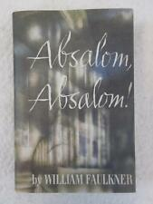 William Faulkner ABSALOM, ABSALOM! 75th Anniversary Facsimile Ed Random House