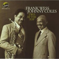 Frank Wess, Frank Wess & Johnny Coles - Two at the Top [New CD] 2 Pack