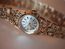 Vintage SEIKO Japan 40 Filigree Gold Tone Lady Wind Up Watch Excellent Works MCM