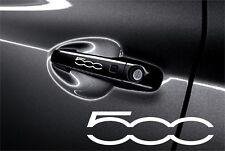5x Aufkleber Fiat 500 für Türgriff und Außenspiegels Cut Vinylselbstklebe