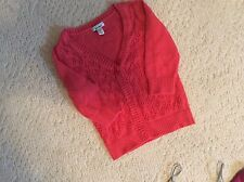 Old Navy Girl's 3/4 Sweater/Shrug Size  Small