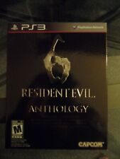 Resident Evil 6 Anthology PS3 OPEN BOX DLC NOT USED RE 1 , 2 , 3 , 4 , 5 MINT !