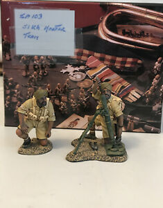 KING & COUNTRY EIGHTH ARMY EA103 BRITISH SIKH MORTAR TEAM