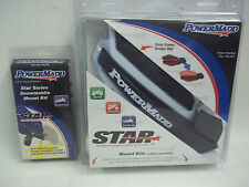 POWERMADD HANDGUARD AND SNOWMOBILE MOUNTS WHITE