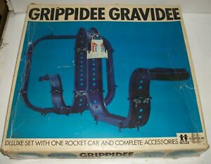 Vintage GRIPPIDEE GRAVIDEE SET TP842 Extra parts / track - runs - not complete