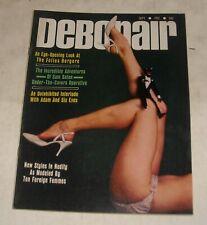 1965 DEBONAIR MEN's PINUP MAGAZINE FOLLIES BERGERE ART of DEFENSE SAM SATAN