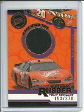 2006 Press Pass Burning Rubber Tony Stewart Race-Used Tire Card BRT16 #d 153/370
