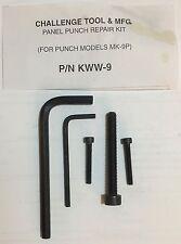 KWW-9 Panel Punch Repair Kit for MK-9P (DSP-9P)
